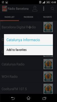 Estacions de Ràdio Barcelona screenshot 1