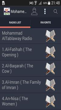Mohamed Al Tablawi Audio Quran poster