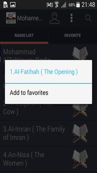 Mohamed Al Tablawi Audio Quran screenshot 1