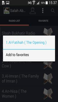 Salah Abu Khater Quran Mp3 screenshot 3
