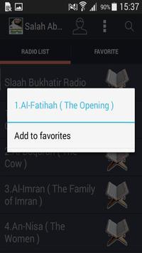 Salah Abu Khater Quran Mp3 screenshot 1