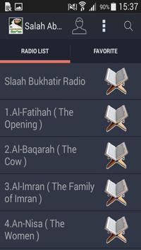 Salah Abu Khater Quran Mp3 screenshot 4