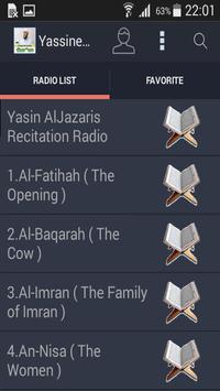 Yassin Al Jazairi Audio Quran poster
