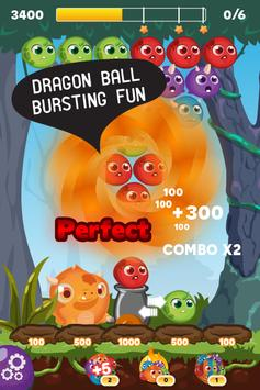 Bubble Dragon Ball Shooter apk screenshot