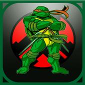 Turtle shadow ninja run icon