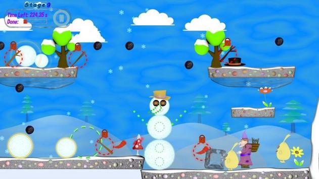 Snowman Balls screenshot 4