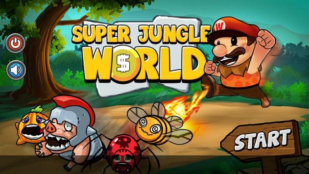 Super Jungle World HD poster