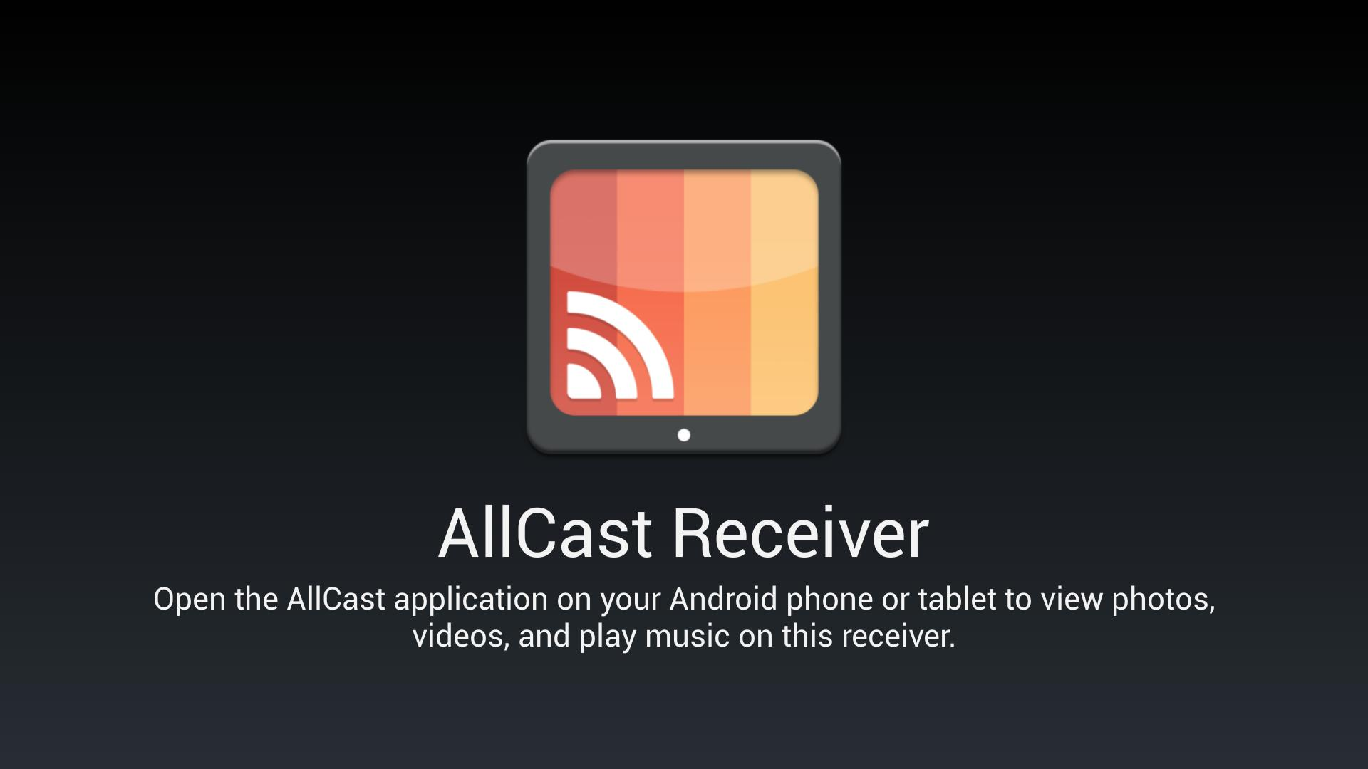 AllCast Receiver for Android - APK Download