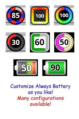 Always Battery (Icon Changer) for Android - APK Download