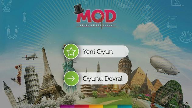 MOD poster