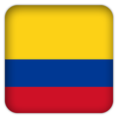Selfie with Colombia flag icon