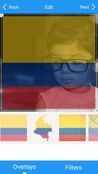 Selfie with Colombia flag apk screenshot