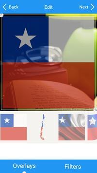 Selfie with Chile flag apk screenshot