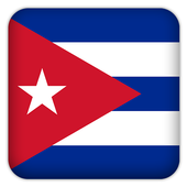 Selfie with Cuba flag icon