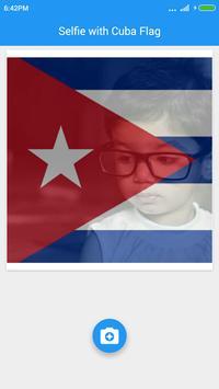 Selfie with Cuba flag apk screenshot