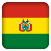 Selfie with Bolivia flag icon