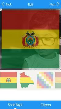 Selfie with Bolivia flag screenshot 3