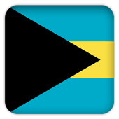 Selfie with Bahamas flag icon