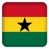 Selfie with Ghana flag icon