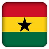 Selfie with Ghana flag icon
