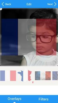 Selfie with France flag apk screenshot