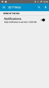 Koza English Hindi Dictionary apk screenshot