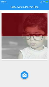 Selfie with Indonesia flag apk screenshot