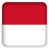 Selfie with Monaco flag icon