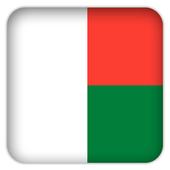 Selfie with Madagascar flag icon