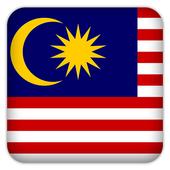 Selfie with Malaysia flag simgesi
