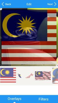 Selfie with Malaysia flag スクリーンショット 3