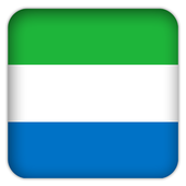 Selfie with Sierra Leone flag icon