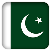 Selfie with Pakistan flag icon