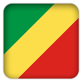 Selfie with RepublicCongo flag icon