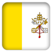 Selfie with Vatican City flag icon