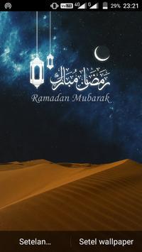 Ramadan Mubarak Live Wallpaper screenshot 3