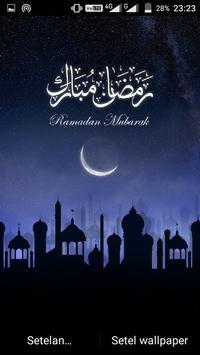 Ramadan Mubarak Live Wallpaper screenshot 4