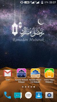 Ramadan Mubarak Live Wallpaper screenshot 5