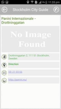 Stockholm City Guide apk screenshot