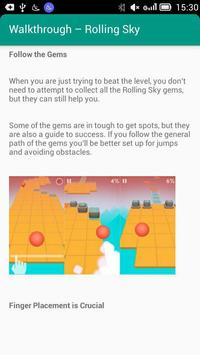 Walkthrough – Rolling Sky screenshot 1