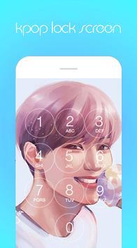 Kpop Lock Screen HD screenshot 2