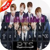 BTS Keyboard Theme ( kpop ) icon