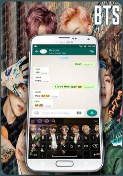 BTS Keyboard Theme ( kpop ) poster
