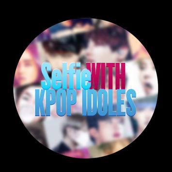 selfie with kpop idols poster