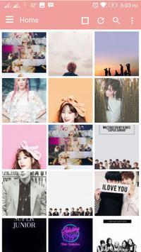 Wallpaper Kpop HD screenshot 2
