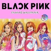 BlackPink Fanart Wallpaper icon