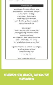 Monsta X Lyrics & Wallpapers screenshot 9