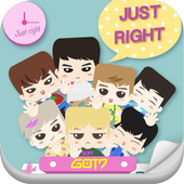 GOT7 Hairstyle Kpop Quiz Game أيقونة