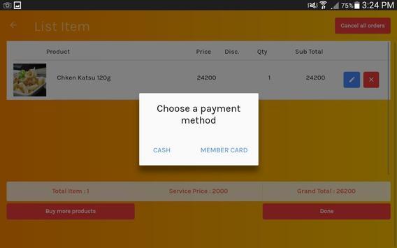 Aplikasi Kasir Umum Gratis screenshot 3