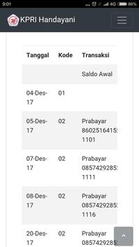 Internet Koperasi KPRI Handayani apk screenshot